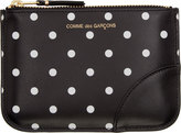 Comme des Garcons Wallets Black & White Dot Print Coin Pouch