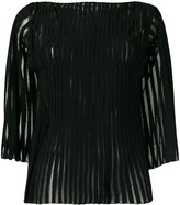 Pierantonio Gaspari Pierantoniogaspari applique stripe top