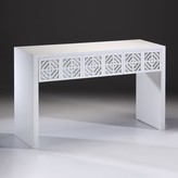 The Well Appointed House White Lacquer Rectangular Console