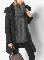 Michael Kors Hooded Down Coat