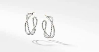 David Yurman The Crossover Collection Hoop Earrings