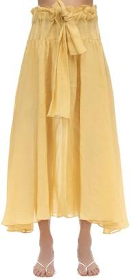 Maryam Nassir Zadeh Carlita Gauze Maxi Skirt