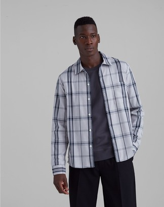 Club Monaco Standard Fit Plaid Shirt