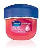 Vaseline Vaseline, Rosy Lips, Lip Therapy, .25 OZ, (Pack of 4)