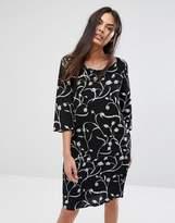 Selected Lilica Printed Shift Dress
