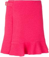 Moschino buckle wrap skirt