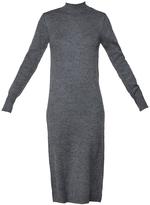 Vila Knitwear dresses - Grey