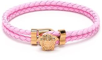 Versace Medusa Clasp Rope Bracelet