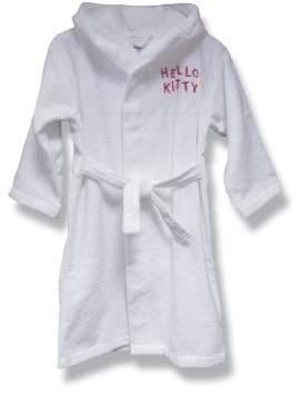 Hello Kitty Bathrobe 2/4 years white