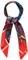 Hermes Jardins d' Hiver Silk Scarf