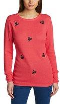 Sugarhill Boutique Women's Meadows Knit Floral Long Sleeve Jumper