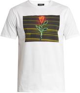 A.P.C. La Rose-print cotton T-shirt