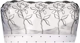 Fleur of England Flower Print Strapless Boudoir Bra