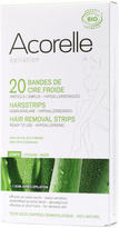 Acorelle Ready to Use Aloe Vera and Beeswax Leg Strips - 20 Strips