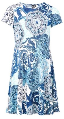 Dorothy Perkins Womens *Izabel London Mosaic Print Swing Dress