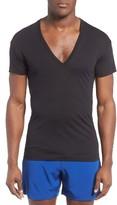 2xist Men's Slim Fit Pima Cotton Deep V-Neck T-Shirt