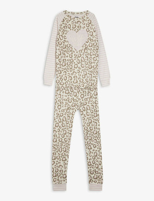Hatley Leopard cotton pyjama set 4-10 years