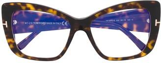 Tom Ford Oversized Cat-Eye Glasses