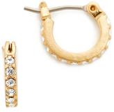 Madewell Delicate Pave Hoop Earrings