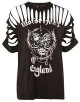 And finally Motorhead eyelet slash t-shirt