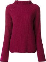 Haider Ackermann roll neck knit sweater