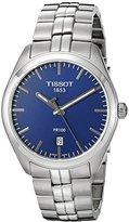 Tissot Men's T1014101104100 Analog Display Quartz Silver-Tone Watch
