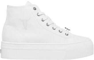 Windsor Smith Runaway White Canvas Sneaker