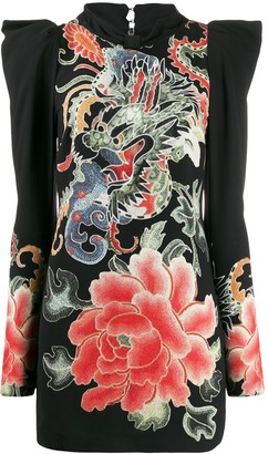 John Richmond Guereda floral-print dress