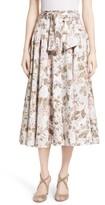 Rebecca Taylor Women's Penelope Floral Midi Skirt