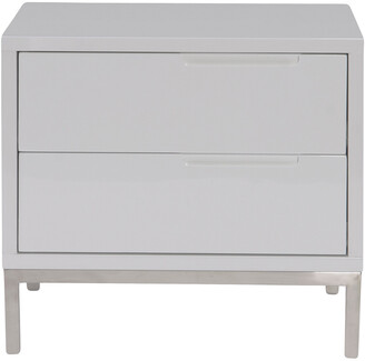 Moe's Home Collection Naples Side Table White