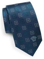Versace Multi-Square Silk Tie