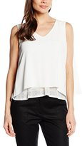 Axara Paris Women's Sleveless Blouse - Off-White -