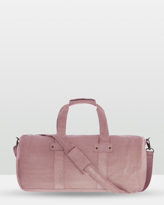 Cobb & Co - Women's Pink Leather bags - Southport Soft Leather Duffle Bag - Size One Size, Unisex at The Iconic