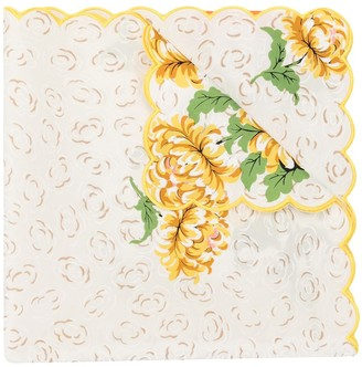 Tory Burch Floral Cloud-print silk scarf