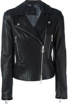 Belstaff 'Marving T' biker jacket - women - Leather/Viscose - 42