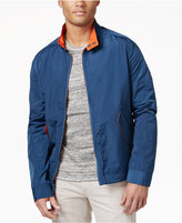 Andrew Marc Big & Tall Men's Barracuda Moto-Collar Bomber Jacket