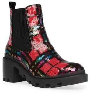 Betsey Johnson Women's Rowann Block Heel Booties Women's Shoes