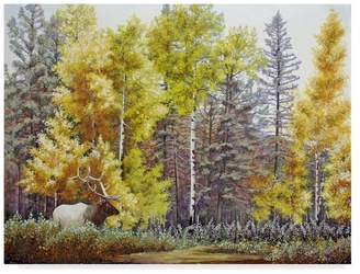 CAROL J. Trademark Fine Art Rupp 'Autumn Begins' Canvas Art