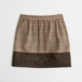 J.Crew Factory Factory colorblock plaid mini