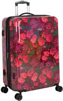 "Isaac Mizrahi Live! Irwin 2 29"" 8-Wheel Spinner Luggage - Floral"
