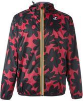 No.21 floral print hooded jacket - men - Polyester - M