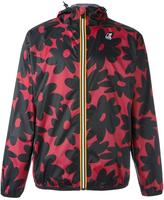 No.21 floral print hooded jacket - men - Polyester - S