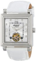 Ingersoll Women's IN5010WH Astoria Analog Display Automatic Self Wind White Watch