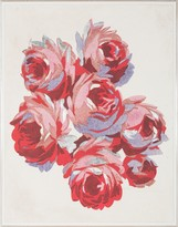 The Well Appointed House Gallini Rose Textile Wall Art