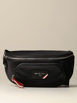 Bally Belt Bag Finlei Nylon Pouch With Trainspotting Shoulder Strap