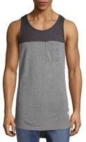Ezekiel Gromit Colorblock Cotton Tank Tee