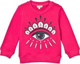 Kenzo Hot Pink Eye Applique Sweatshirt