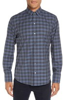 Zachary Prell Men's 'Lieberman' Trim Fit Check Sport Shirt