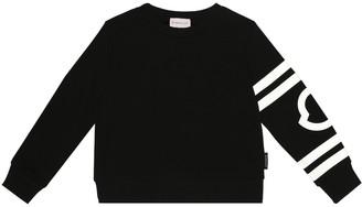 Moncler Enfant Printed cotton sweatshirt