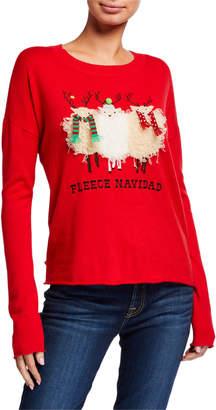 LISA TODD Fleece Navidad Holiday Sweater